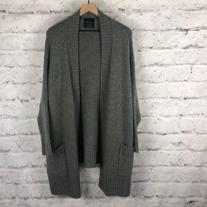 NWOT ZARA High Low Cardigan Oversize Sweater Sz M